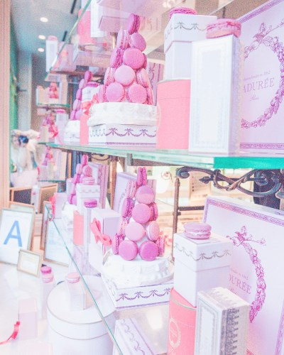 My Pretty Little Visit To The Laduree In SOHO