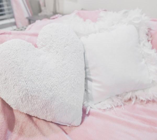The Cutest Heart Pillows
