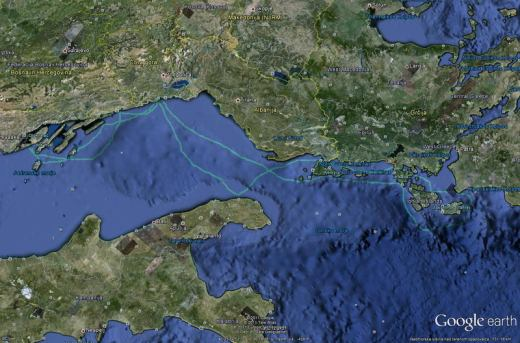 Split-Zakintos-Split plan