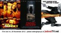 Jadwal Film dan Sepakbola 29 November 2012