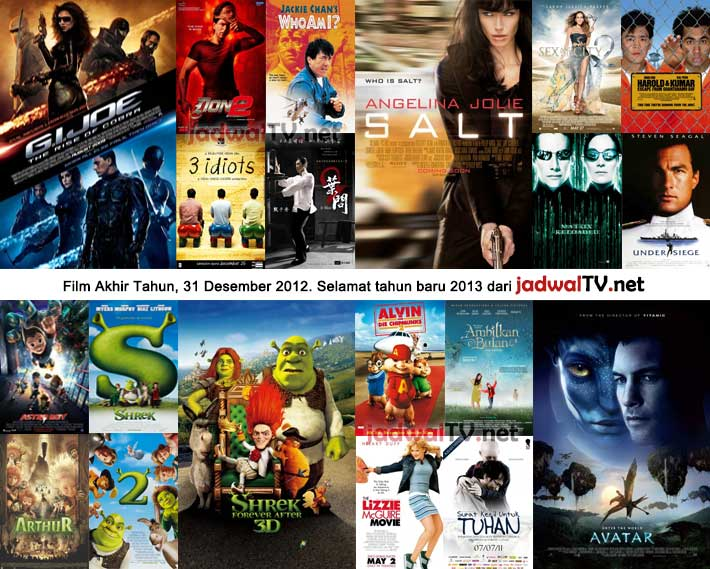 Jadwal Film 31 Desember 2012