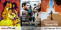 Jadwal Film dan Sepakbola 9 Februari 2013