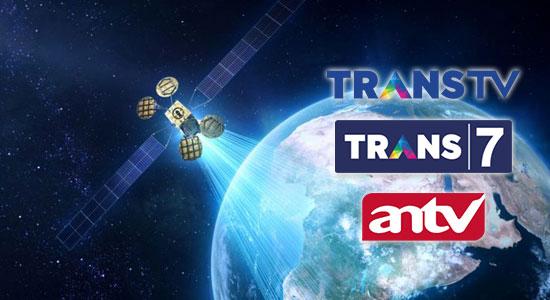 Frekuensi Baru TransTV, Trans7, dan ANTV Di Satelit Telkom 4 (Satelit Merah Putih)