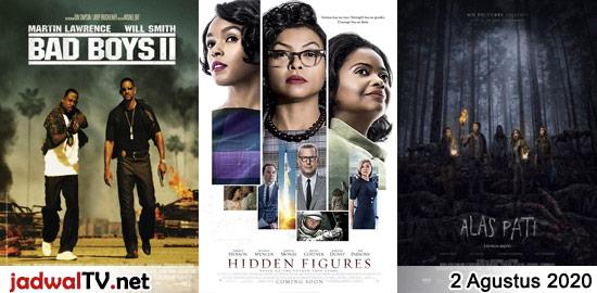 Jadwal Film 2 Agustus 2020