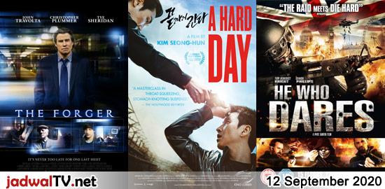 Jadwal Film dan Sepakbola 12 September 2020