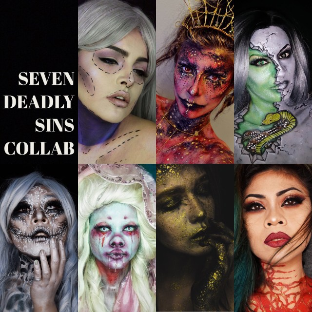 Seven Deadly Sins Collab with some mighty talented humans Ihellip