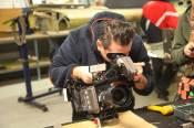 Fotografen i arbeid.