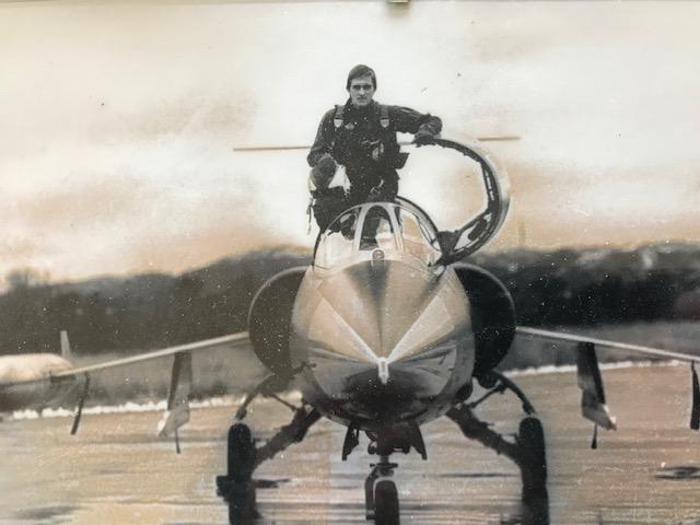 Steinar Tyldum som fløy F-104G Starfighter for 331 skvadron på slutten av 1970-tallet. Foto via Steinar Tyldum.