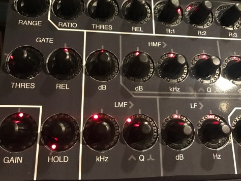 Reason: Using A BCR2000 To Fully Control The SSL Mixer's EQ Channel