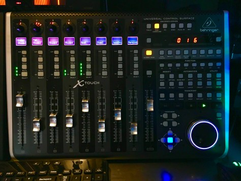 Reason Custom Behringer X Touch Remote Map Layout Mixer