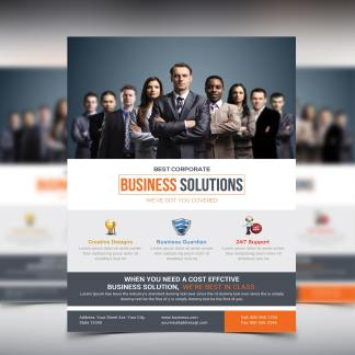 Business Service Flyer Template
