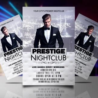 Prestige Night Club Flyer Template