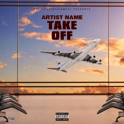 Take Off Mixtape Cover Template