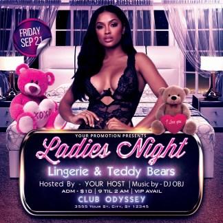 Ladies Night - Lingerie & Teddy Bears