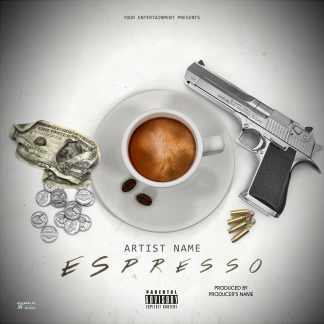 Espresso Single Cover Template
