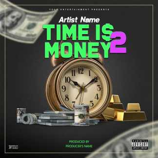 Time Is Money 2 Single Cover Template