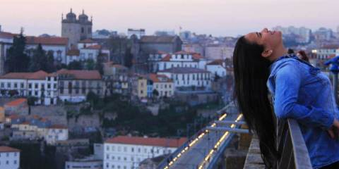 Leticia no Porto, Portugal