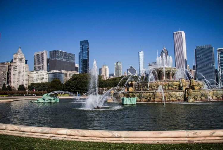 Buckingham Fountain em chicago