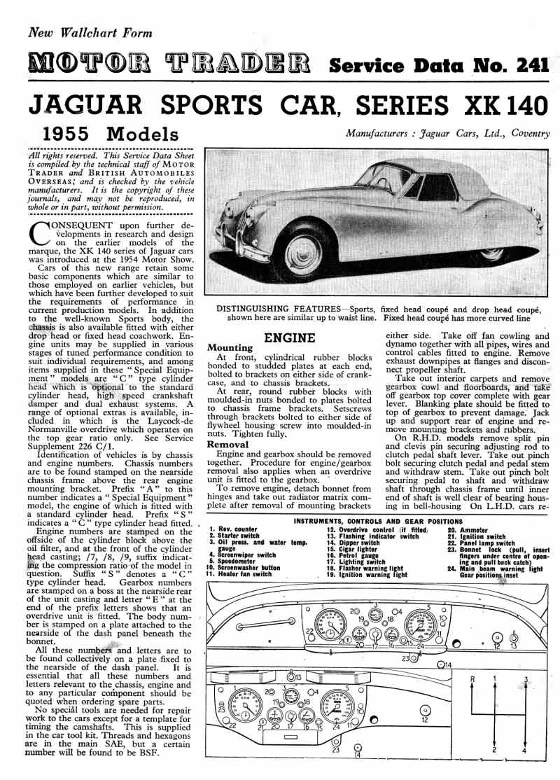 medium resolution of also the xk140 wiring diagram lower page 7 is available in high resolution 153k you can also download a zip file of all the large images 1 02mb