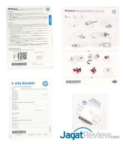 Review Printer All-in-One HP DeskJet Ink Advantage 4535