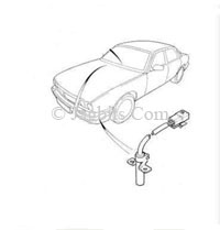 Jaguar OUTSIDE TEMPERATURE SENSOR FOR HEATING AND AIR
