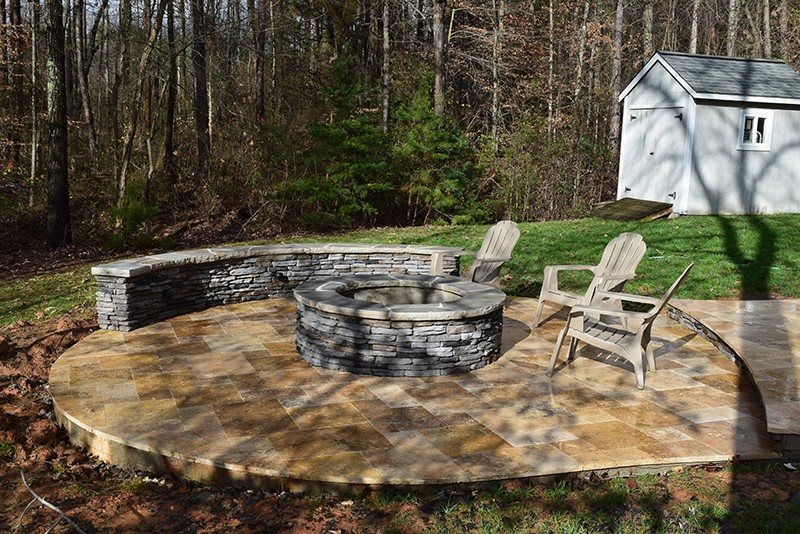 Mooresville NC 3 Seasons Room Patio Fire Pit  Lake Norman Mooresville area Screen Porch