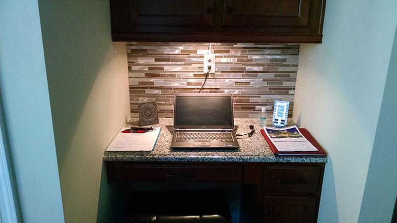 glass tile kitchen backsplash prefab charlotte, nc tile, bar, renovation ...