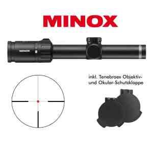 MINOX 1-5 x 24 mit Schiene bei Jagdabsehen