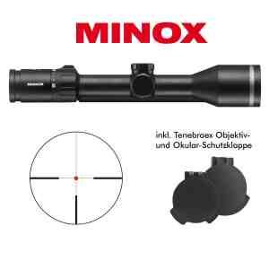MINOX 2-10x50 mit Schiene bei Jagdabsehen
