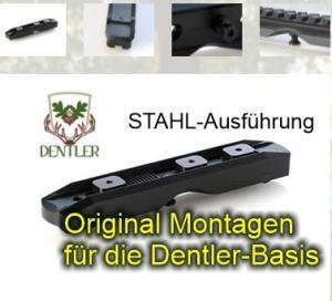Fxxx-00000 STAHL-Montageschiene BASIS Dentler bei Jagdabsehen