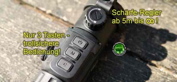 Jagdabsehen INFIRAY CH50-2021 SorglosPaket-Wärmebildvorsatzgerät-Plug & Play 6