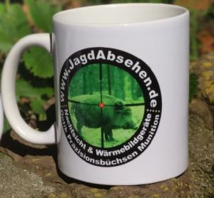 Jagdabsehen Kaffeetasse für Jäger mit Geschmack 2