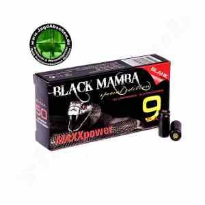MAXXpower BlackMamba Platzpatronen 9mm PAK 50-Stück bei Jagdabsehen