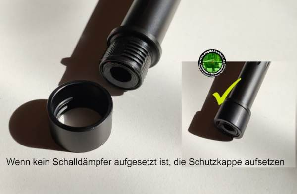 Montage A-Lock A-Tec bei Jagdabsehen 7