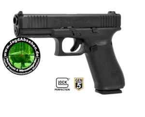 Pistole Kurzwaffe Glock 17 Gen 5 bei Jagdabsehen 7