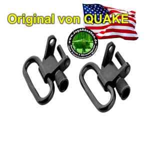 QUAKE-HQStahl-Riemenbügelhalter-Set STALKER-QD2