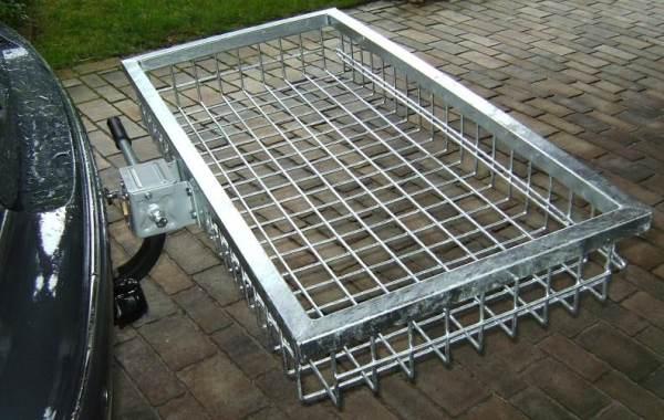 StVo-sicherer Highend Heckträger bei Jagdabsehen 100 x 50 x 14,5 cm