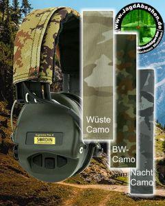 Wechselband für Gehörschutz Sordin PRO-X bei Jagdabsehen mit verschiedenen Motiven
