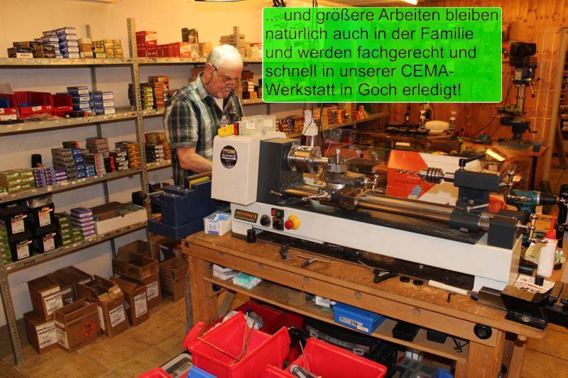 Werkstatt Goch Laden Waffenhandel Munition Jagdabsehen 4-3