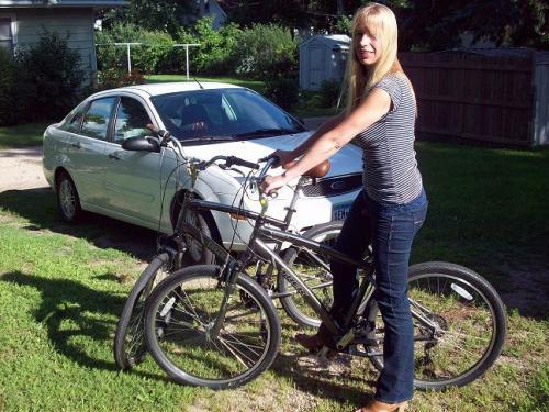 Trek Bike Thule Bike Rack