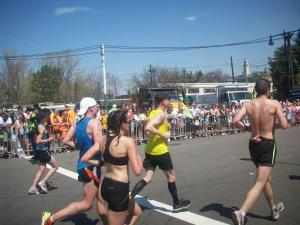Running the Boston marathon in 2012