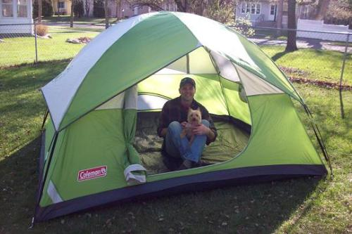 Our Coleman Tent Review