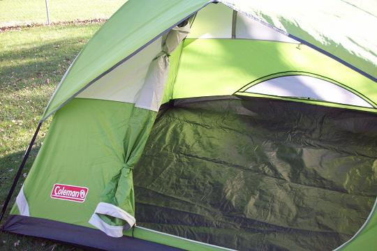 four person tent review & Colman Liberty Mountain Sports Sundome Camping Tent Review