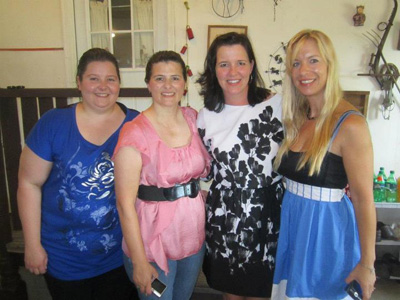 Becky, Stacy, Steph and Silke Jager