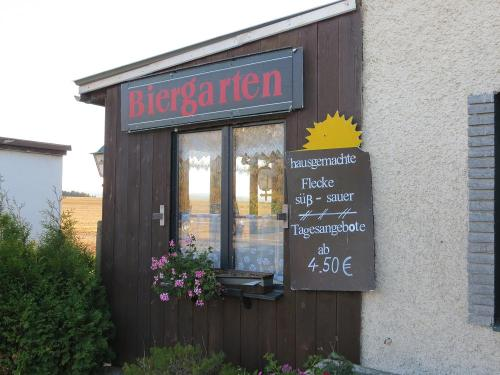 The Bier Garten at the Gasthaus