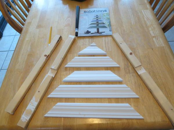 Easy DIY Christmas Tree Craft Project