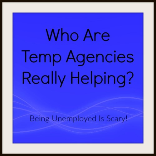 Who are temp agencies helping?