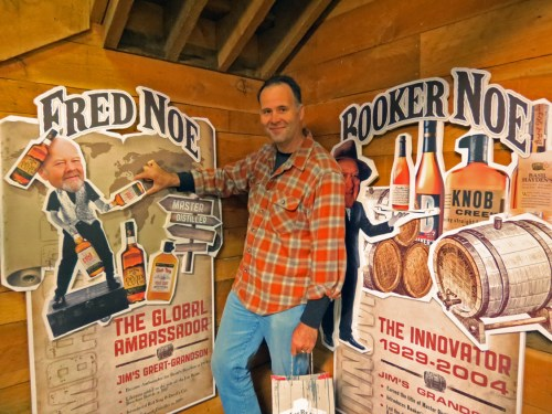 Fred and Booker Noe - Jim Beam Whiskey Tour