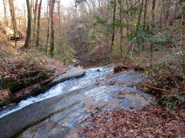 NC hiking trail