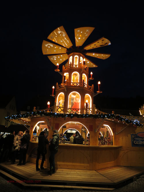 Christmas Pyramid, visit Germany in winter